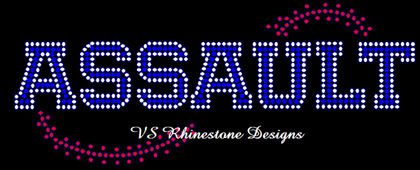 Baseball and Softball Stitch Create Your Own Rhinestone Transfer