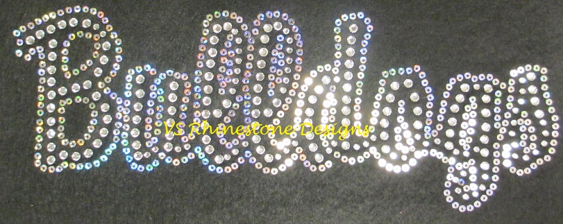 Bulldogs Rhinestone and Sequin Transfer Combo (1)