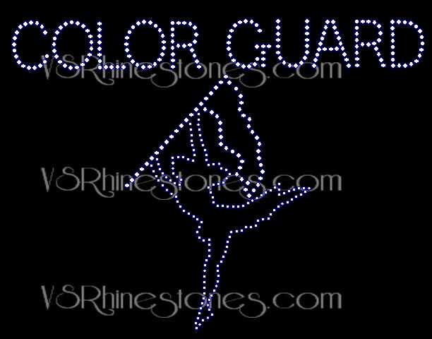 Color Guard Girl - New