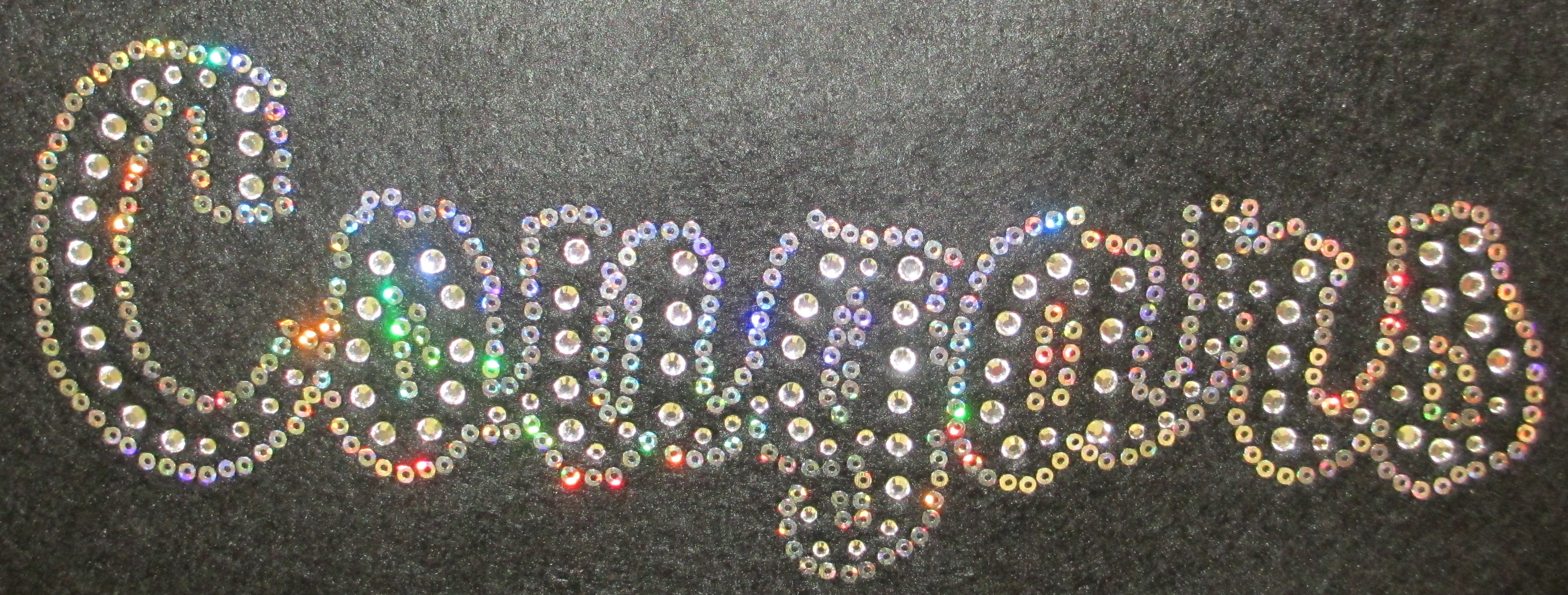 COUGARS Rhinestone and Sequin Transfer Combo (12) SELECT COLOR