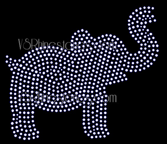 Elephant Filled - Downloadable File Only