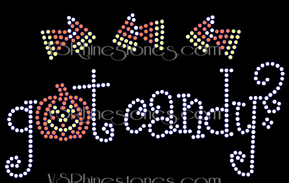 Got Candy NEW Rhinestone Transfer