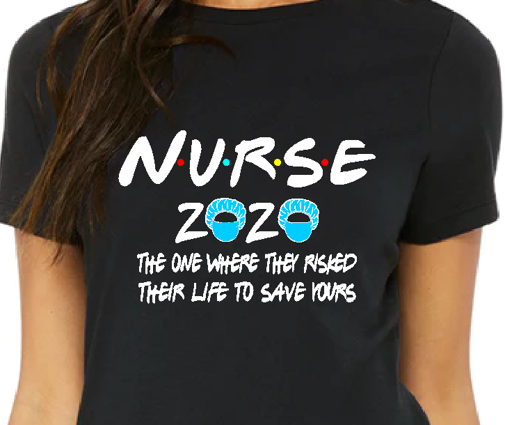 Nurse 2020 Quarantined T-shirt
