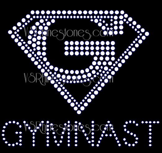 Super Gymnast Small - Left Chest