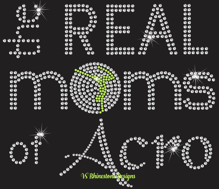 The Real Moms of Acro Rhinestone Transfer