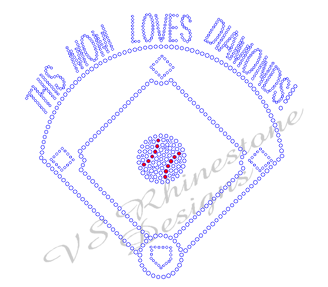 This Mom Loves Diamonds - Baseball Rhinestone Transfer