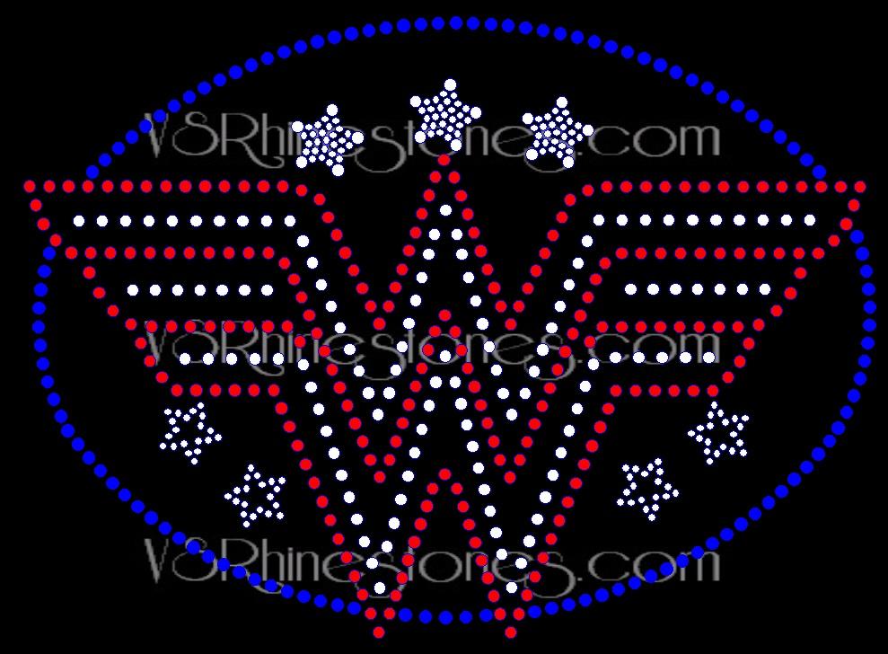 Wonder W Rhinestone Transfer Ww898142 6 95 Vs