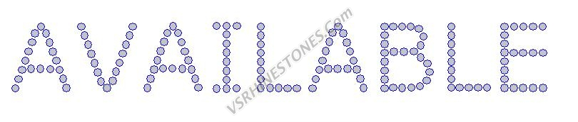 Available - Crystal Rhinestone Transfer