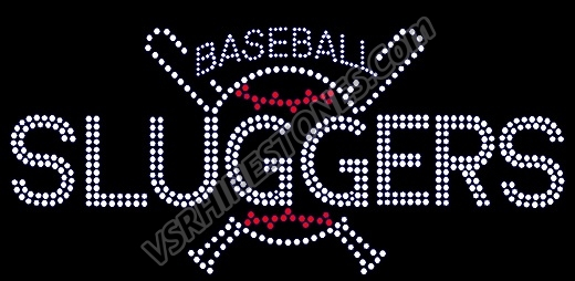 Personalized Baseball & Bats Car Decal