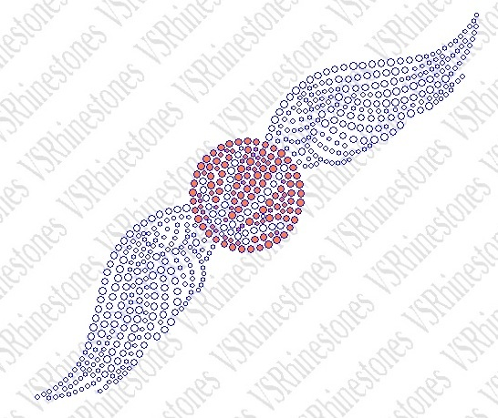 Basketball Wings Car Decal